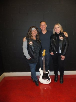 Bryan Adams Suzanne and Julia