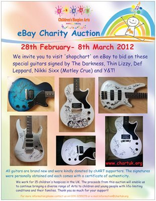 ebay chART all guitars poster