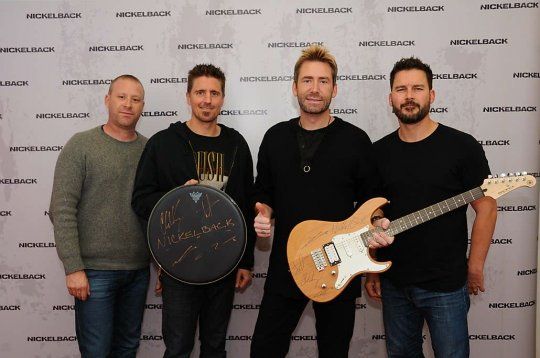 Nickelback drum and guitar